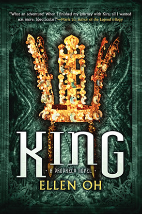 King by author Ellen Oh